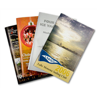 5½ x 8½ Self Cover Booklets 100lb Gloss Text