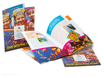 "24 Page 8 1/2"" x 11"" Booklets 100lb Gloss Text"