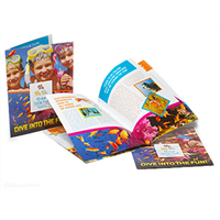 "24 Page 8 1/2"" x 11"" Booklets 100lb Silk Text"