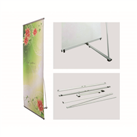 Deluxe L-Stand Banner
