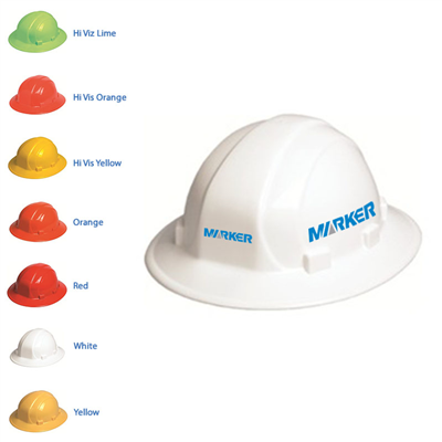 Omega II Full Brim Hard Hat