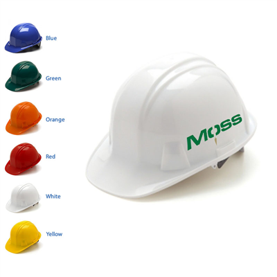 Pyramex Hard Hat - 4-Point Snap Lock
